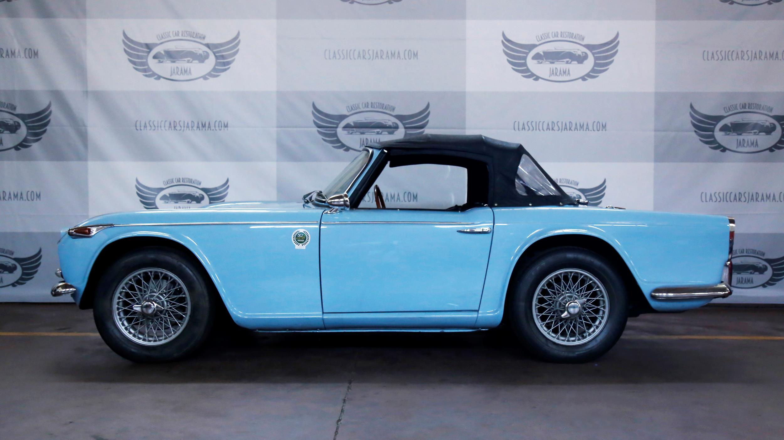 Triumph Tr4a For Sale In Madrid Classic Cars Jarama